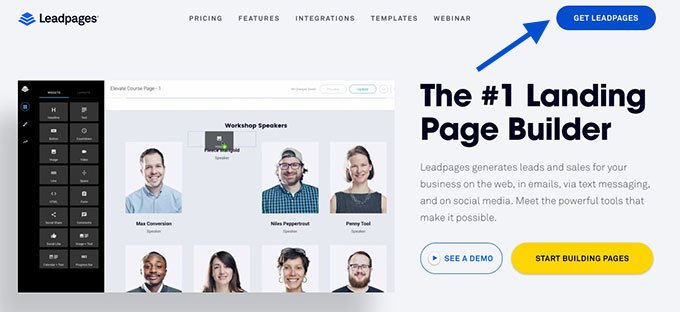 LeadPages Registration