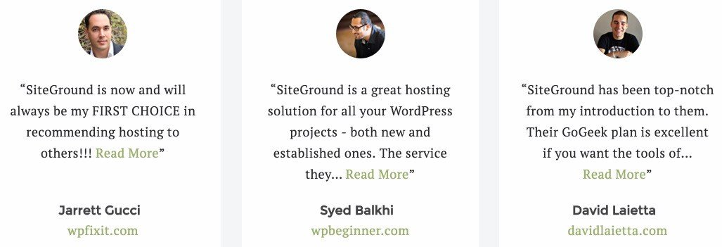Siteground Reviews