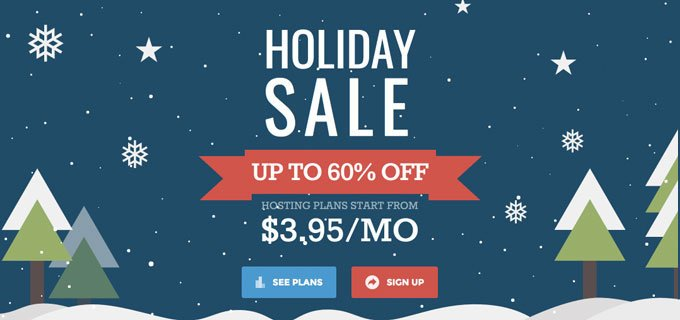 SiteGround Hosting - Holiday Sale