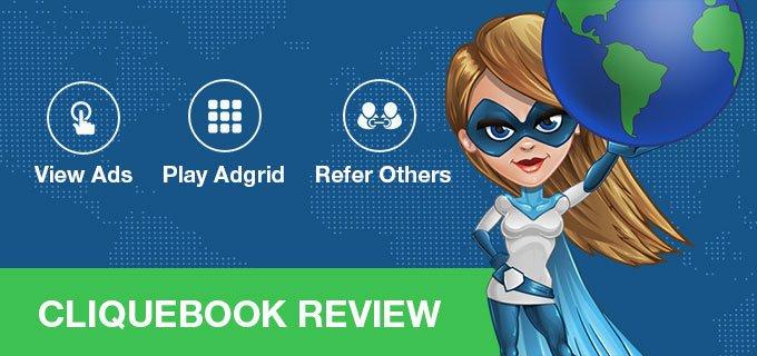 Cliquebook PTC Review: is Cliquebook legit or scam?