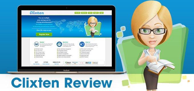 Clixten Review: is Clixten legit or scam?