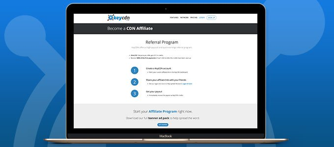 Content Delivery Network - Affiliate Program