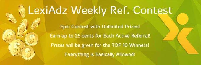 Lexiadz - Referral Contest