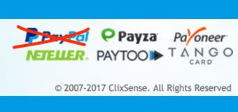 Clixsense PayPal Suspended